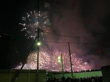 淀川花火大会へ行きました!